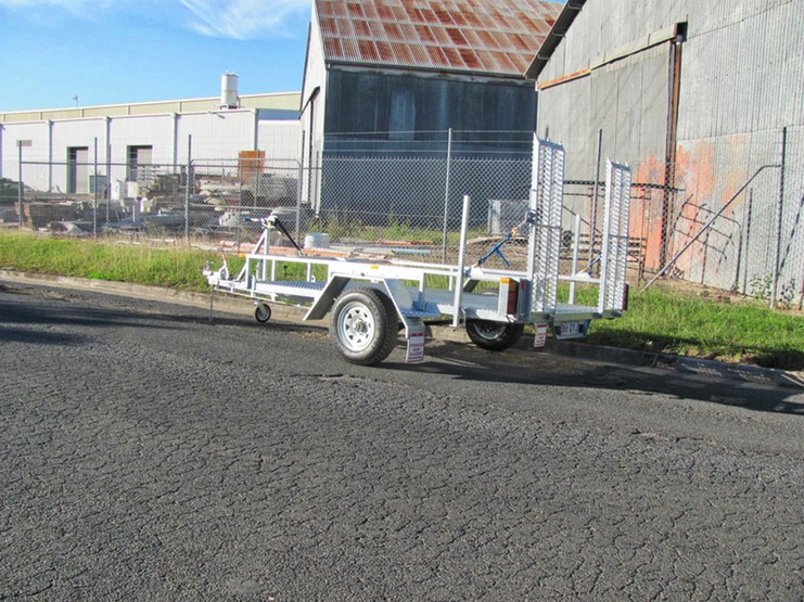 mower trailer