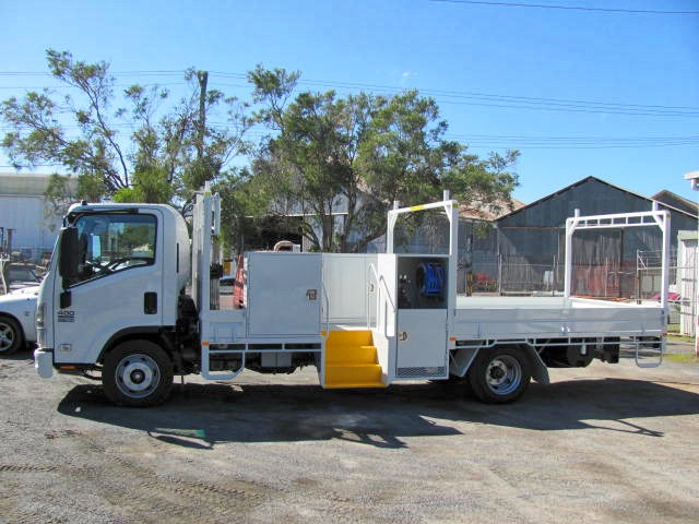 Service Truck with rear tipper