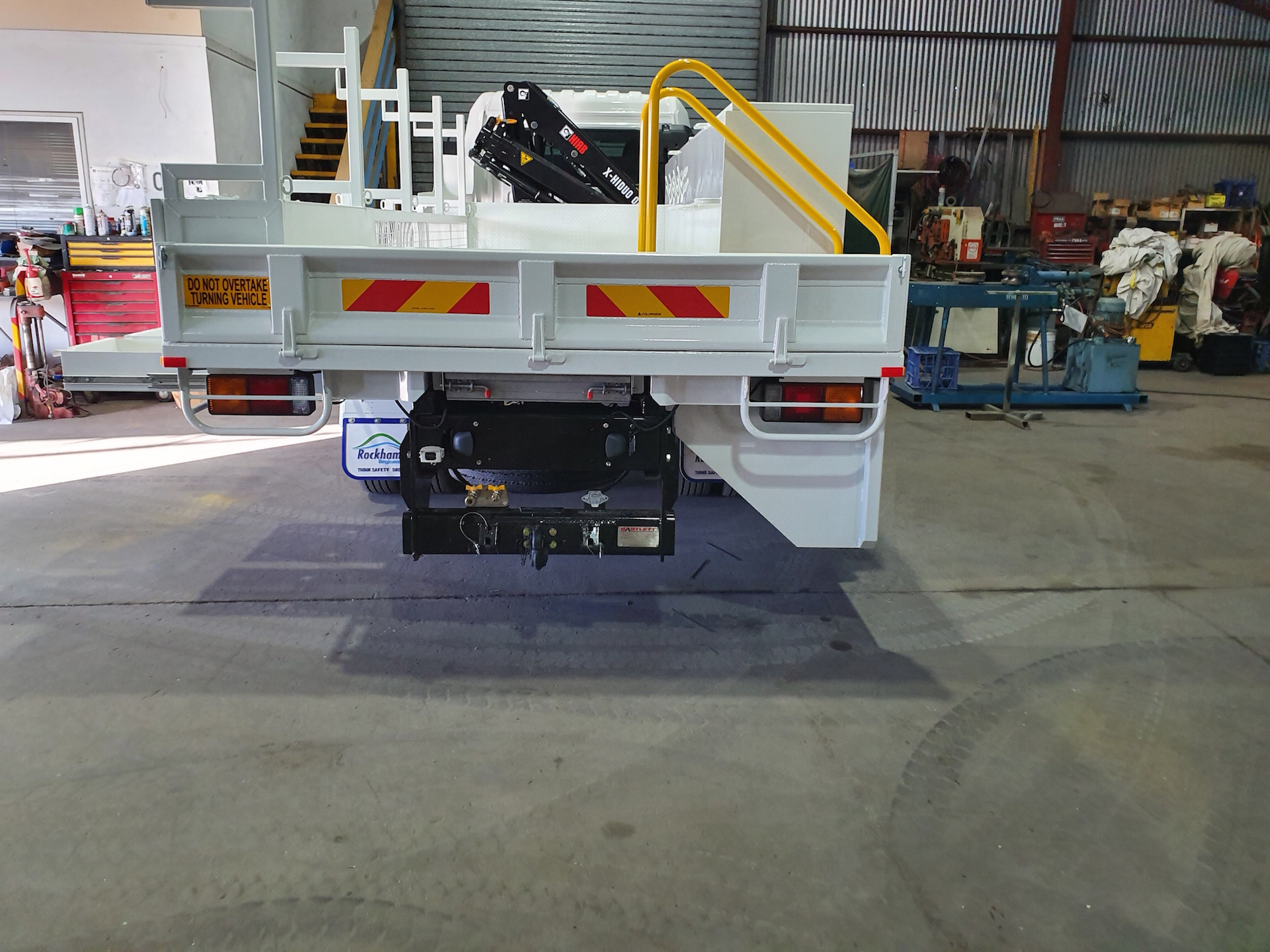 Concreters Truck Crane